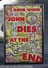 "John Dies at the End Book Cover 2"" x 3"" Fridge / Locker Magnet. David Wong"