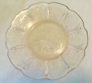 """Jeannette Cherry Blossom Pink 6"""" Bread Plate(s)"""