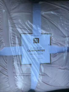Pottery Barn Teen Pucker Up Comforter F/Q Full/Queen Powdered Blush NEW