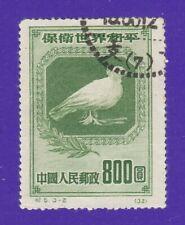 P.R. China 1950 Peace Dove - Cto stamp.