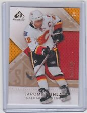 07-08 2007-08 SP GAME USED JAROME IGINLA GOLD PARALLEL /100 83 CALGARY FLAMES