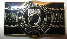 "*POW/MIA-""Logo in Center""- Lapel pin,Tie Tack,Hat pin"
