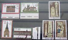 DDR Briefmarken 1984 Komplettsatz Denkmalpflege und Postmeilensäulen