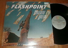 "TANGERINE DREAM Orig 1984 ""Flashpoint"" LP SHRINK NM-"