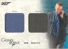 "James Bond In Motion - DC05 ""Mr. White's Shirt & Pants"" Costume Card #0505/1250"