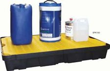 100 Ltr Sump Spill Tray/Removable surface grid. Oil Chemical Bunded Drip Pallet