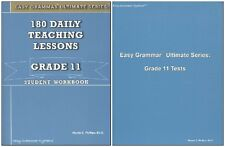 Easy Grammar Ultimate Series: 180 Daily Lessons Grade 11 SET - Workbook & Tests