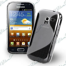 COQUE ETUI HOUSSE TPUS SILICONE GEL TRANSPARENT+ FILM SAMSUNG GALAXY ACE 2 I8160
