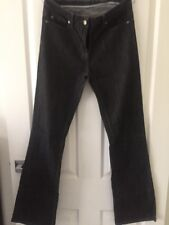 Women's David Lawrence Black Denim Jeans, Size 11