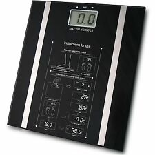 Digital BODY FAT analizzatore scale BMI sano di 150kg PESATURA SCALA perdita di peso