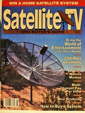 SATELLITE TV 1993 BUYER'S GUIDE; HOW TO BUY, NEW PRODUCTS, ENTERTAINMENT, RARE