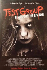 TEST GROUP  FEAR FOR THE LIVING, DVD, 2015, SKU 354