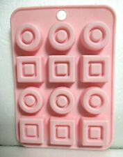 New listing Japanese Silicone Chocolate Mold Fancy Daiso Japan Kawaii!