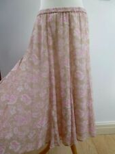 Hippy, Boho Casual Regular Size Skirts for Women