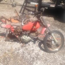 1974 1975 Honda Elsinore MR50 50 REAR Frame section  only as seen on this bike.