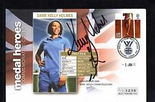 GB 2010 Olympic Medal Heroes Cover Signed by Kelly Holmes - mercury FDC