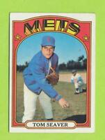 1972 Topps - Tom Seaver (#445)  New York Mets   Excellent  AB