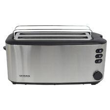 Severin Toaster Langschlitztoaster Toastautomat 4 Scheiben Toaster AT 2509