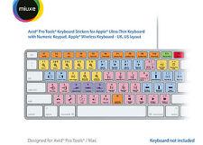 Avid Pro Tools Keyboard Stickers | Mac | QWERTY UK, US