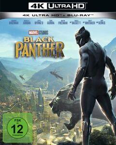 Black Panther [4K Ultra HD Blu-ray & Blu-ray im Schuber /NEU/OVP] Chadwick Bosem