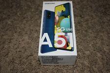 Samsung A51 5G Uw Prism Bricks Blue 128Gb Cell Phone New Box Verizon Sma516Vzbvz