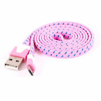 Pink USB 2.0 Type A Male to Micro USB Male Data Transfer Cable 1M 3ft