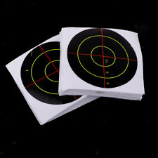 100pcs Shooting Targets Reactive Splatter Range Paper Target for Practicing