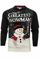 Mens Xact 'Greatest Snowman' Christmas/ Xmas Jumper