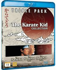 KARATE KID 1-3 Box Set Collection - Region 2/B - Blu Ray (UK / Europe)