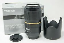 Tamron SP A005 70-300mm f/4.0-5.6 Di VC USD Lens For Canon EF
