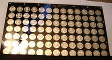 91 piece GRADING SET Silver Dollars of Canada BU to Superb Gem BU P/L 1965 - 67