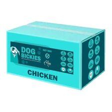 Petrite Australian Chicken Bickies Dog Biscuits - 5kg Bulk Box
