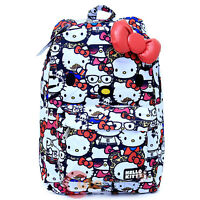 Sanrio Hello Kitty Face School Backpack with 3D Bow and Ears All Stars Bag