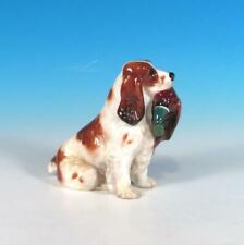 Royal Doulton Cocker Spaniel & Pheasant Hn 1029 F Daws c 1931 China Figurine Exc