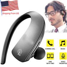 Wireless Bluetooth Headset Headphones For Samsung S9 S8 S7 S6 S5 J7 J5 Prime A6