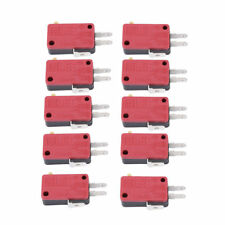 New 10Pc Microswitch 3Pins Push Button Micro Switch for Arcade Game Machine Part