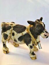 Harmony Kingdom Art Neil Eyre Designs Barn Dairy Milk Farm House Cow bell New