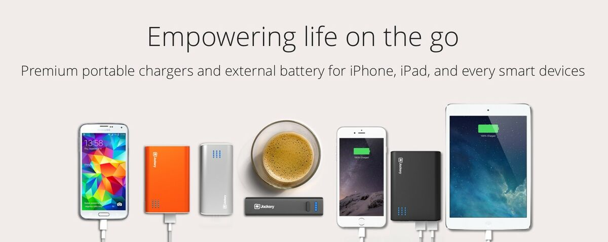 Jackery Portable USB Phone Chargers