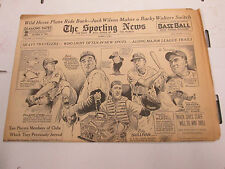 The Sporting News Newspaper Jack Wilson Red Sox  February1940  101014lm-e