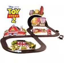 Disney Pixar Toy Story 2 Chase 'N Crash Mattel Hot Wheels Tyco Slot Car Race Set