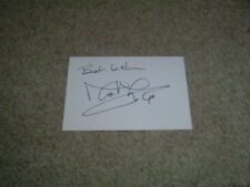 Signed Cards Holby City Television Collectable Autographs