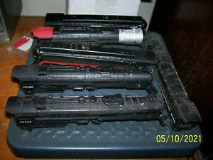 (6) Vintage HO Steam Locomotive Engine Bodies Only. Excellent condition