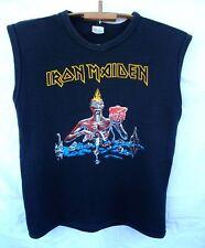 Iron Maiden Seventh son of the Seventh son rare vintage UK OG t-shirt singlet