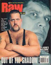 Raw Magazine January 2003 The Big Show, Kurt Angle VG 032916DBE