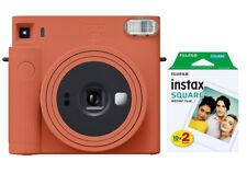 Fujifilm Instax SQUARE SQ1 terracotta orange mit 2 Filmen (2x10 Fotos) NEU
