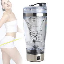 Electric Protein Shaker Bottle Vortex Mixer Cup Portable Blender Drink Shake UK