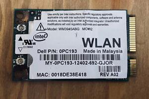 WLAN Laptop Wifi Card Internal Anatel DB02941 /D23031-004 Model- WM3945ABG (1)