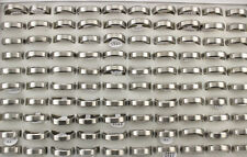 50pcs Stainless Steel Rings For Men Trendy Jewelry Wholesale Lots Gifts  AH1170