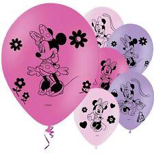 Niña Minnie Mouse Disney Morado Rosa 27.9cm Látex Fiesta Cumpleaños Globos