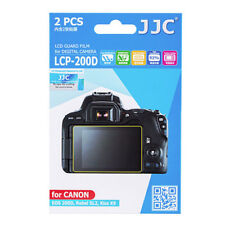 JJC LCP-200D hard polycarbonate LCD Guard Film Screen Protector Canon SL2 200D